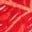 Motif Parakeet Palm rouge hibiscus