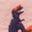 Delfinrosa, Dinosaurier