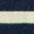Navy/Ivory Rainbow Cuff