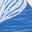 Motif Parakeet Palm bleu ciel