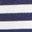 Motif floral blanc/bleu marine indigo