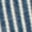 Indigo Blue Ticking Stripe