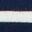 Ivory/Navy Rainbow Cuff