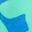 Taches de léopard bleu oasis