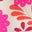 Knalliges Stiefmütterchenrosa, Tropenstreifen