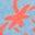 Surf Blue Strawberry Doodle