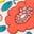 Lit de fleurs multi rose