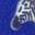 Hellblau, Geometrisches Zebramuster