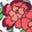 Bunt, Vintage-Blumenmuster