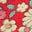 Kirschtomatenrot, Vintage-Gänseblümchen
