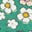Sardinia Green Vintage Daisy