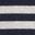 Navy/Ecru Stripe