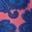Korallenrosa, Blumenmuster
