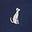 Dalmatien bleu marine