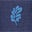 Feuille bleu marine Neptune