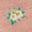 Bébé cochon d'Inde rose craie