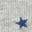 Grey Marl Rainbow Star