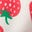 White/Emerald Strawberries