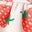 Naturweiß/Delfinrosa, Erdbeere