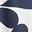 Navy, Teardrop Swirl