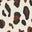 Naturweiß, Leopardentupfen