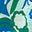Paradiesgrün, Blumenmuster