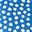 Bold Blue/Ivory Spot