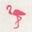 Weiß, Flamingo