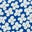 Naturweiß/Kräftiges Blau, Gänseblümchen