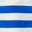 Bold Blue/Ivory Stripe