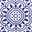 Renaissance Blue, Sun Tile