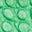 Sattes Smaragdgrün, Krokodilmuster