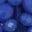 Kräftiges Blau