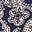 Bleu marine, motif Spotty Paisley