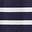 Bleu marine/ivoire