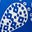 Bold Blue, Spotty Paisley