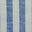 Bold Blue Ivory Stripe