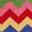 Ecru Rainbow Chevron
