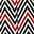 Red, Eccentric Chevron
