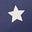 College Navy Confetti Star