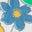 Multi Vintage Ditsy Floral