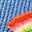 Elizabethan Blue Rainbow