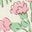 Vintage-Blumenmuster, Neugierige Tiere