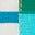 Naturweiß/Blau, Regenbogentasche
