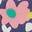 Motif champ de fleurs multi
