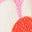 Lit de pâquerettes rose fleur de prunier
