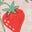 Boto Pink Strawberry Ditsy