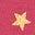 Rosa/Gold, Foliensterne