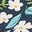 Stormy Blue Unicorn Tapestry