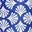 Electric Blue Coral Tile